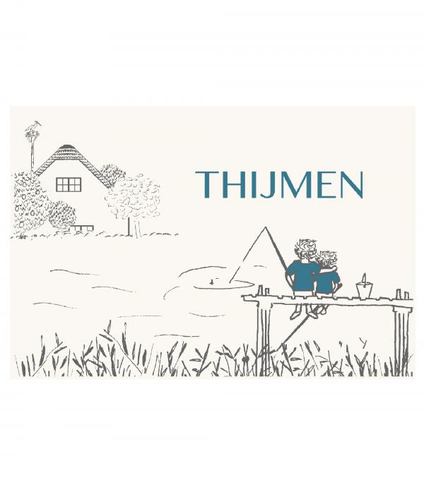 geboortekaartje Thijmen voorkant