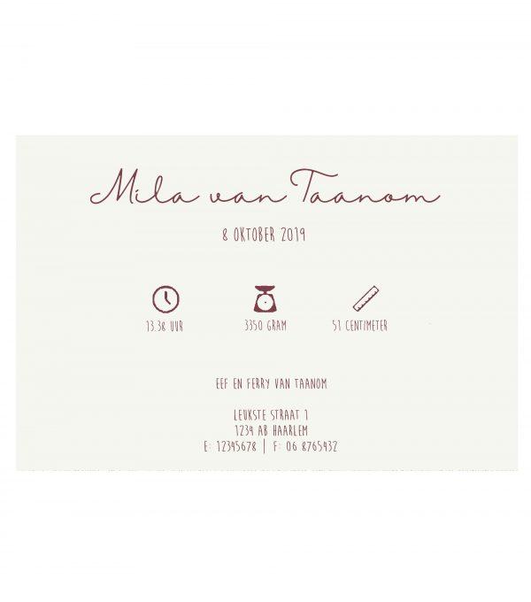 GEboortekaartje wieg met bloesemboom binnenkant (website)
