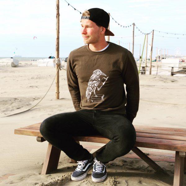 secondhand clothes sweater kraai unisex